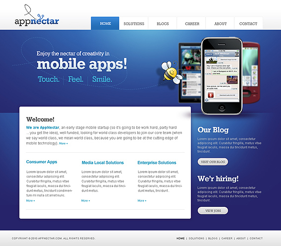 Appnectar - Mobile Apps